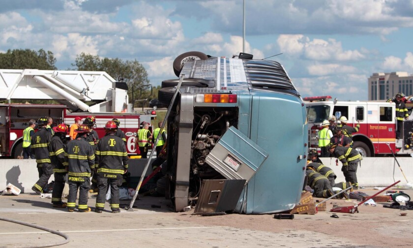 Indianapolis bus crash