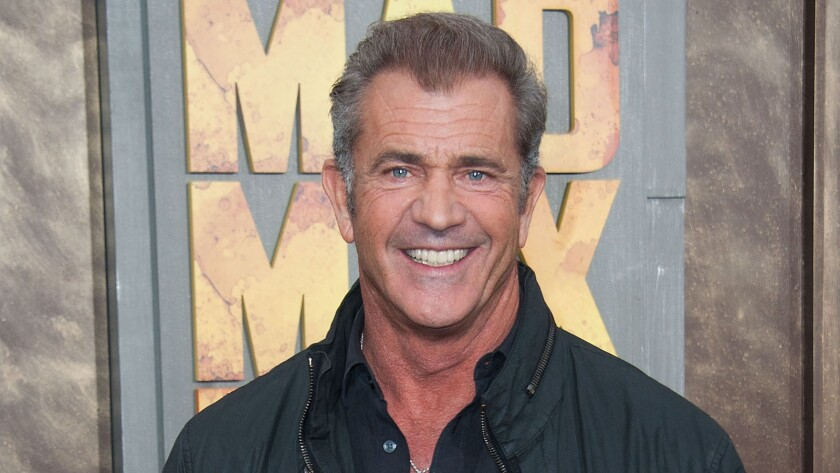Actor/director Mel Gibson attends the premiere of Warner Bros. Pictures 'Mad Max: Fury Road.'