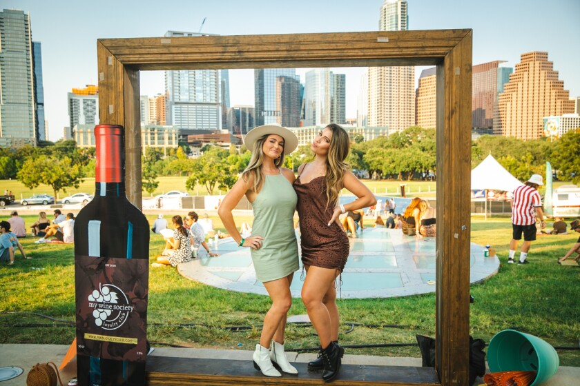 Blended Festival blends music, wine and spirits in a festival that also happens in Austin and Nashville.