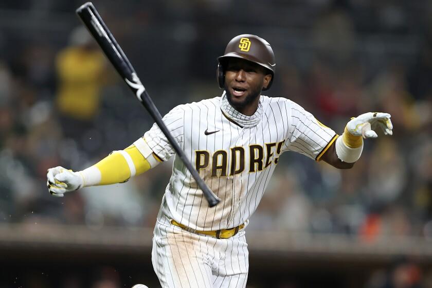 The Padres' Jurickson Profar