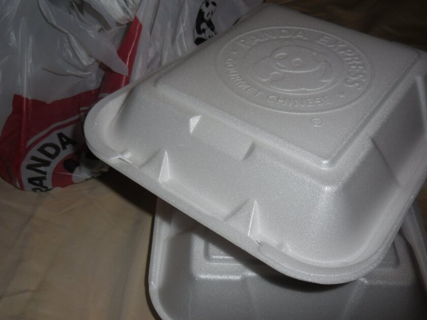 A recent survey by the Solana Beach Chamber of Commerce showed that only 18 out of 63 restaurants contacted used polystyrene containers, said Assistant City Manager Dan King.