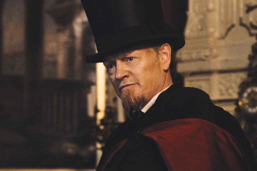 "Jared Harris as Urbani in the movie ""The Devil's Violinst,"" directed by Bernard Rose."