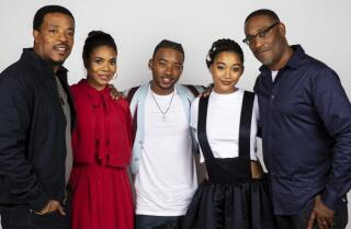 'This is a film we needed yesterday': Russell Hornsby and cast discuss 'The Hate U Give'