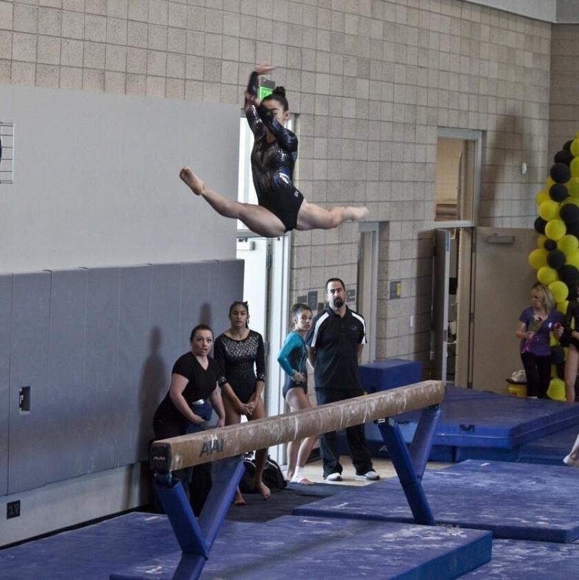 Julianna Love has been a competitive gymnast since age 6.