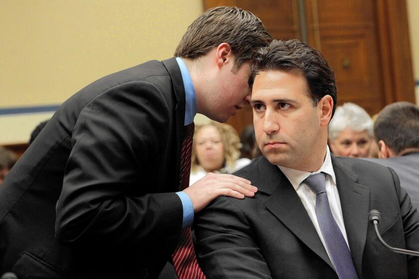 Obama aide Michael Robertson