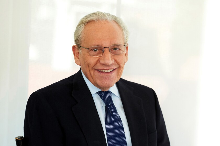 "Bob Woodward, longtime journalist and the author of Trump administration books ""Fear"" and ""Rage."""