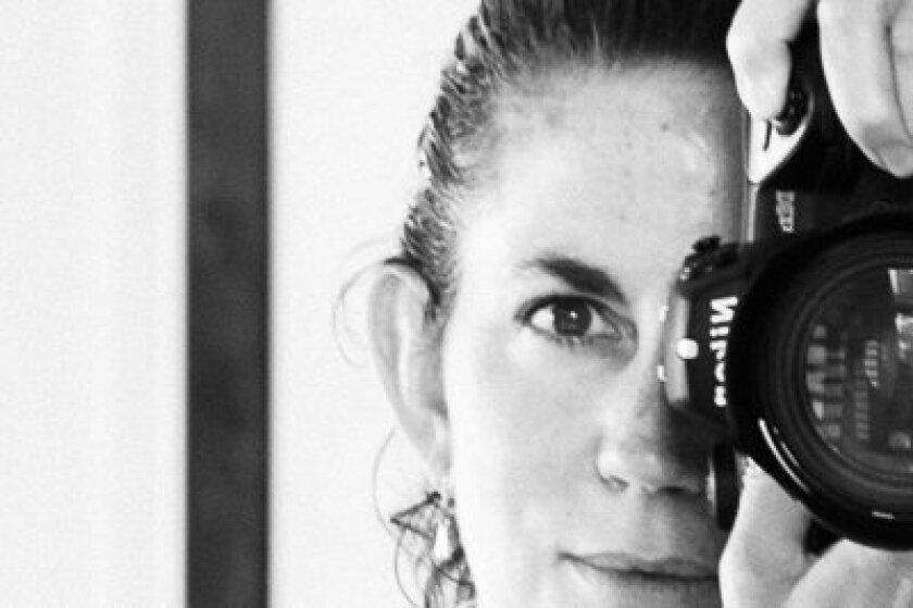 Professional photographer Christine Finkelson.