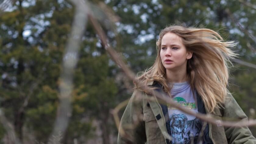 Jennifer Lawrence as Ree Dolly in the movie WINTER'S BONE, directed by Debra Granik Photo Credit: Se