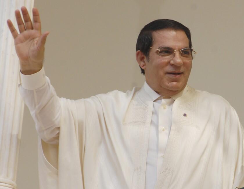 Tunisia Obit Ben Ali
