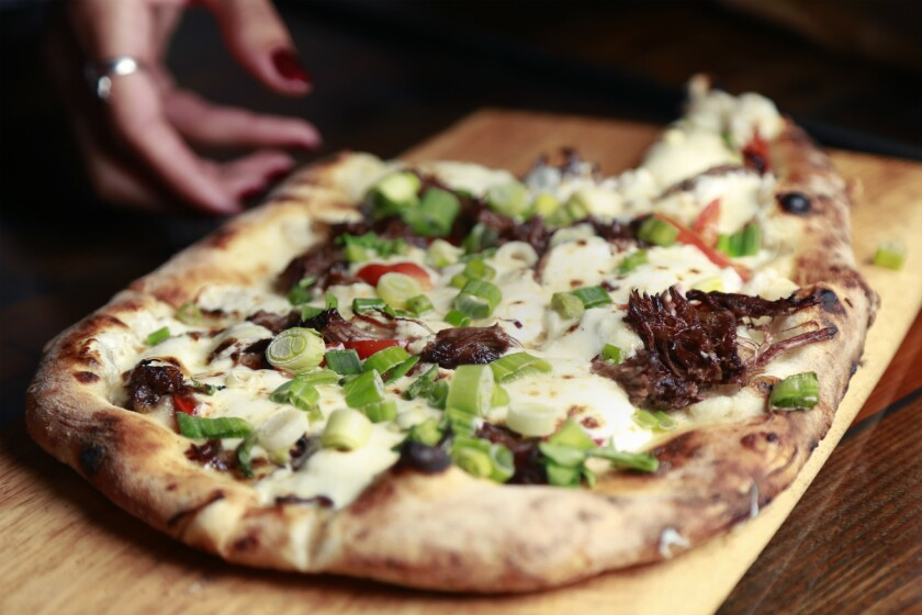 Short Rib flatbread