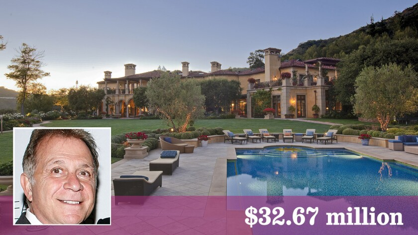 Built in 2001, the Beverly Hills-area estate has nearly 25,000 square feet of living space.