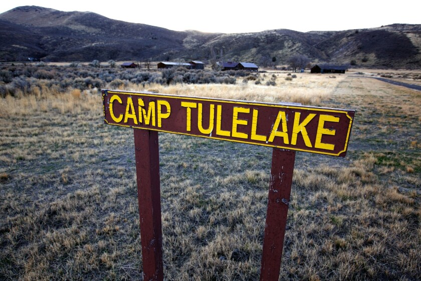 Tule Lake, which held nearly 19,000 Japanese Americans during World War II, is now maintained by the National Park Service.