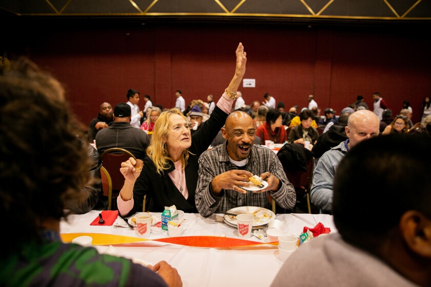 36th annual Salvation Army Thanksgiving Meal