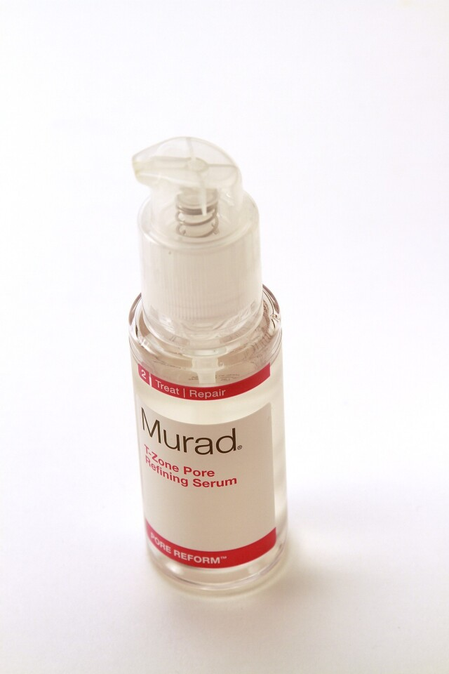 A number of the popular skin care products from Murad are categorized as gluten-free, including this T-Zone Pore Refining Serum.
