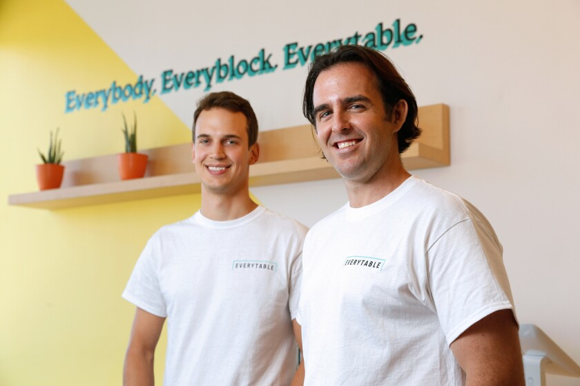 David Foster, left, and Sam Polk, are the founders of Everytable.