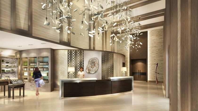 Get ready to be wowed: The luxurious two-story Spa Pechanga is visually stunning