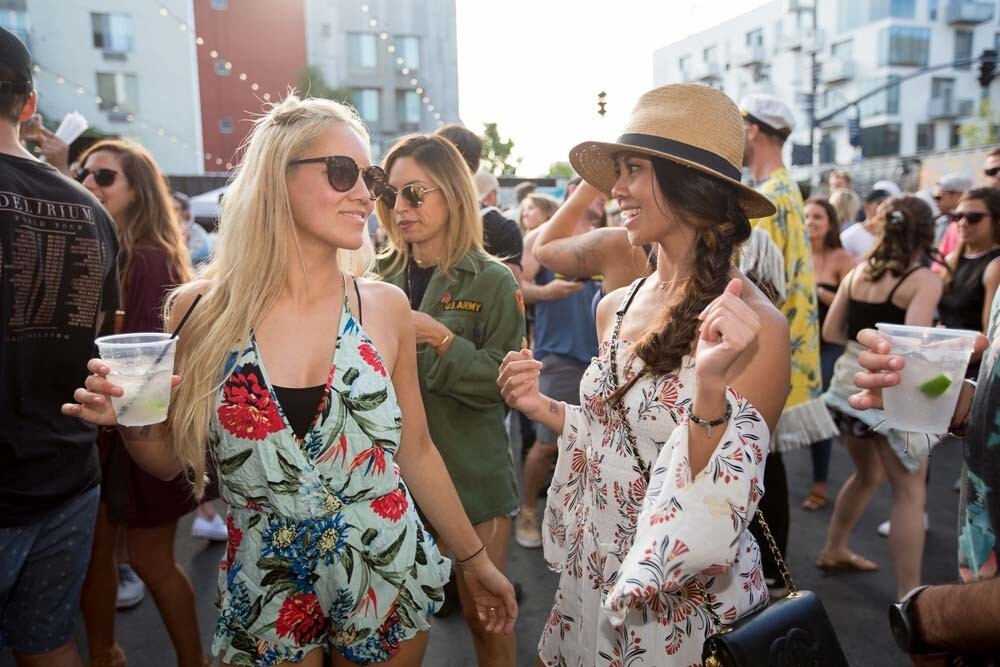 German DJ Claptone's set proved the newly-reopened Quartyard is still the place to be on Sunday, May 6, 2018.