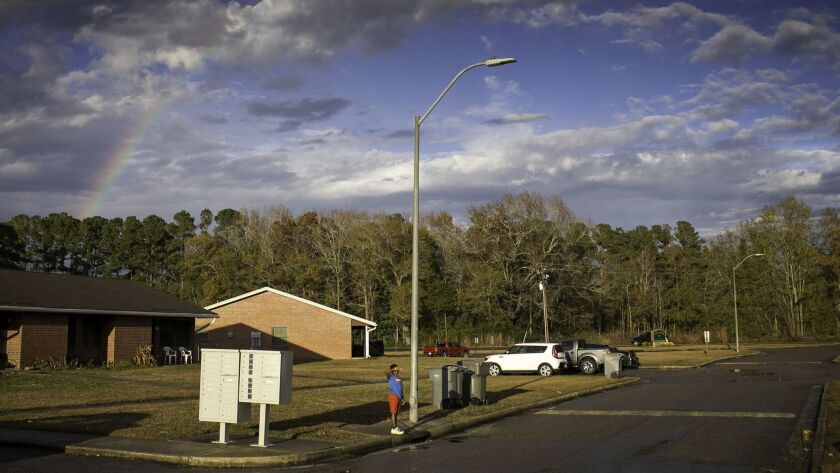 Residents of the Twisted Hickory community in Bladenboro, N.C., say a woman asked them to hand over