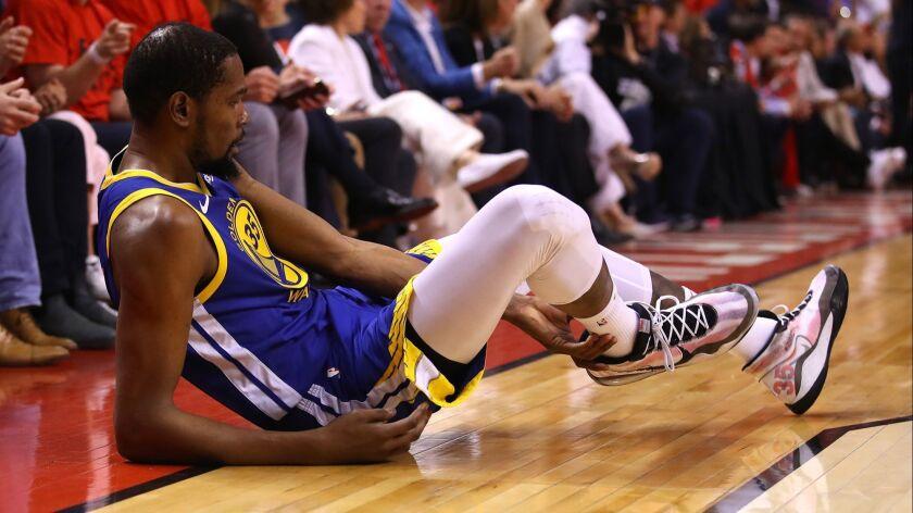 K.C. Johnson: Like Derrick Rose before him, Kevin Durant's injury is bigger than basketball