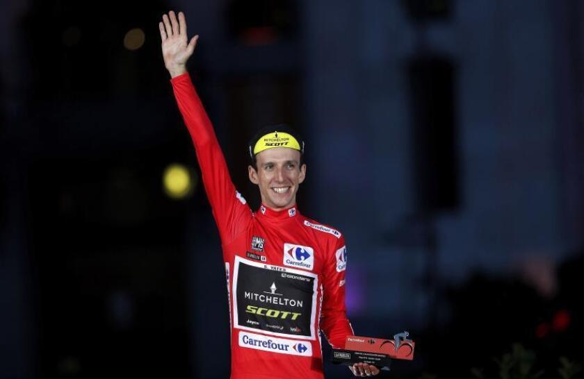 El británico Simon Yates (Mitchelton), ganador de la Vuelta a España. EFE/Archivo