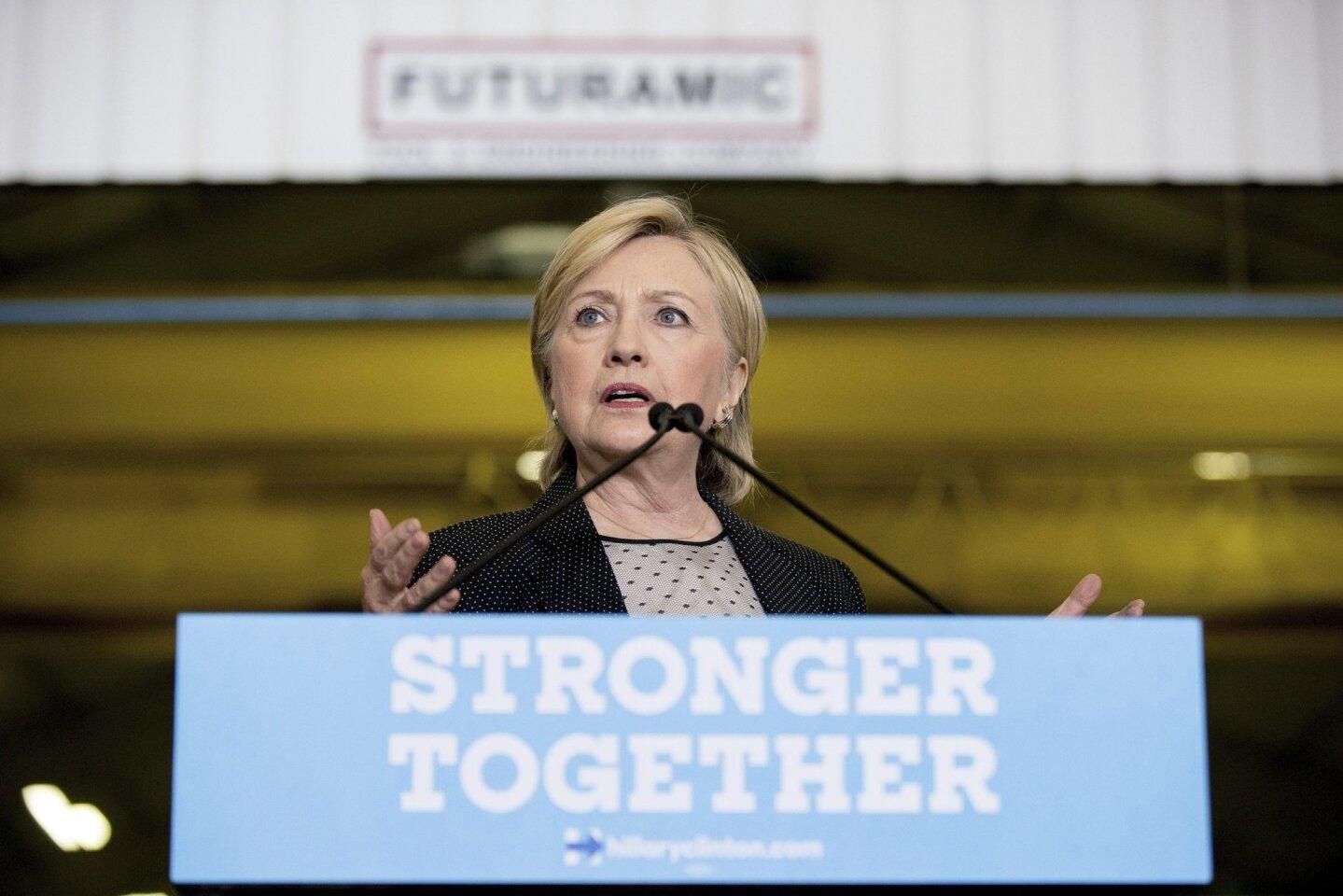Hillary Clinton's economic policy