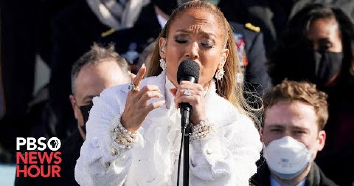 Biden inauguration 2021: What Jennifer Lopez said in Spanish – Los Angeles Times