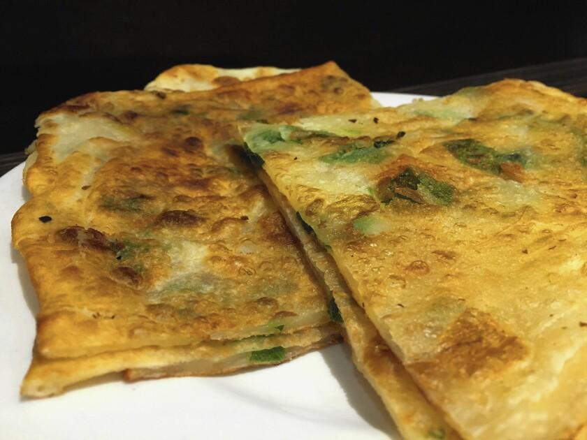 Golden City scallion pancake