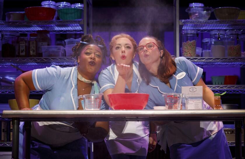 Waitress the Musical.