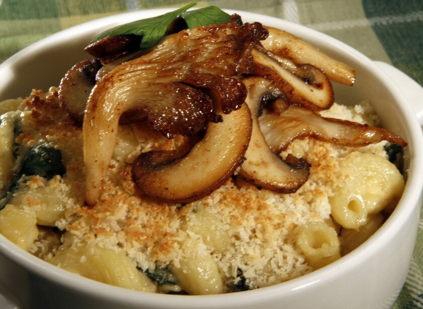 Truffle Macaroni and Cheese from The Beachcomber.