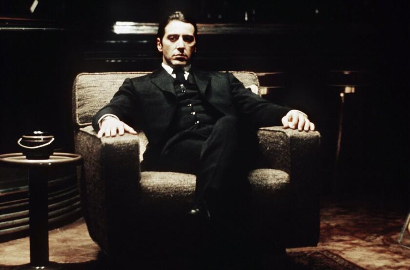 "Al Pacino in ""The Godfather Part II"""