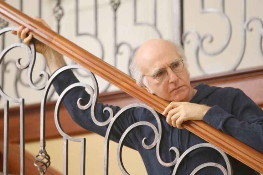 Larry David looking forlorn in 'Curb Your Enthusiasm'