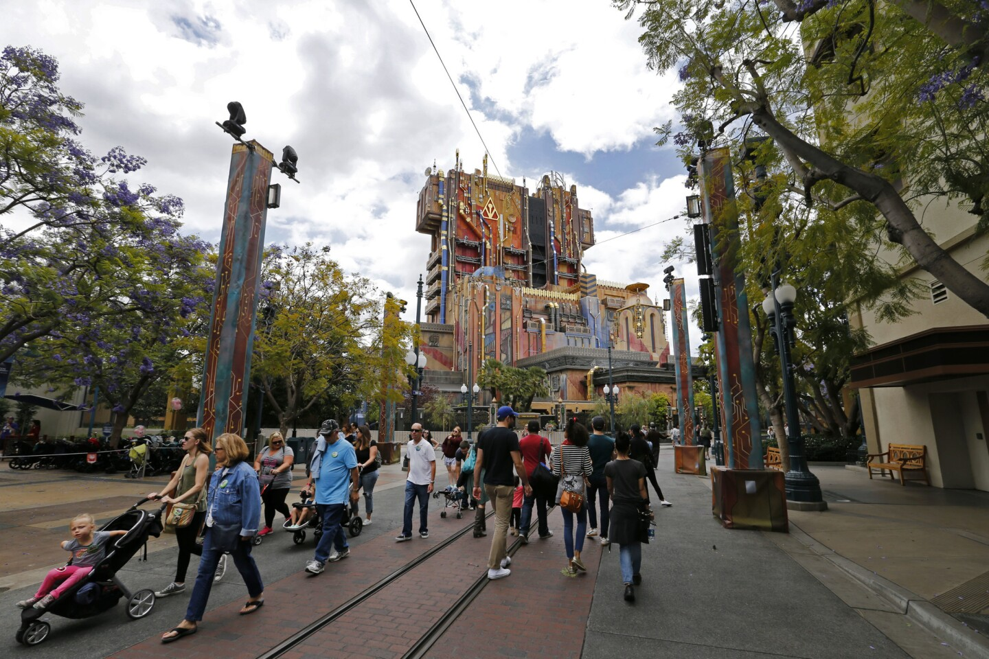 Disney's Guardians of the Galaxy Mission Breakout ride