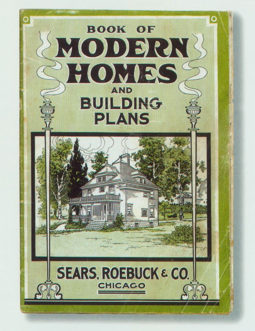 HOUSES BY MAIL –– Sears, Roebuck & Co. of Chicago sold about 100,00 mail–order kit houses from 1908