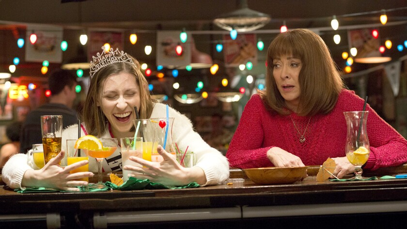 """Eden Sher, left, and Patricia Heaton in """"The Middle"""" on ABC."""