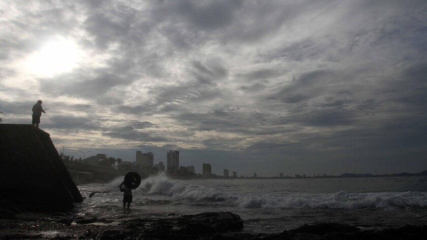 Hurricane Odile approaches