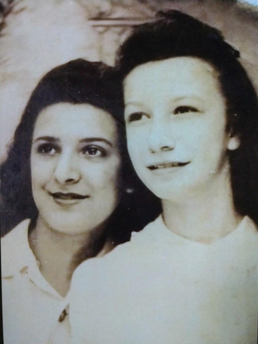 Ruth Sorney and Corrine Casserly