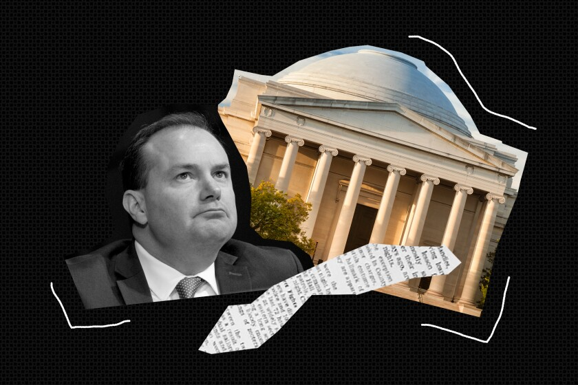 Republican Sen. Mike Lee blocked an effort to establish a National Museum of the American Latino within the Smithsonian.