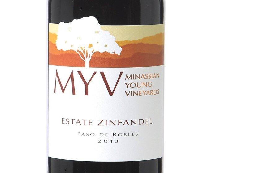 MYV Minassian Young Vineyards Estate Zinfandel Paso Robles 2013 wine