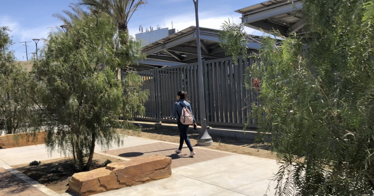 New pedestrian path into Mexico open to public