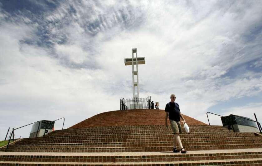 Mt. Soledad cross