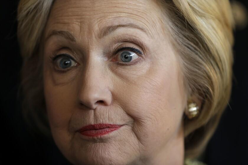 Precandidata demócrata Hillary Clinton. (AP Foto/Seth Wenig)