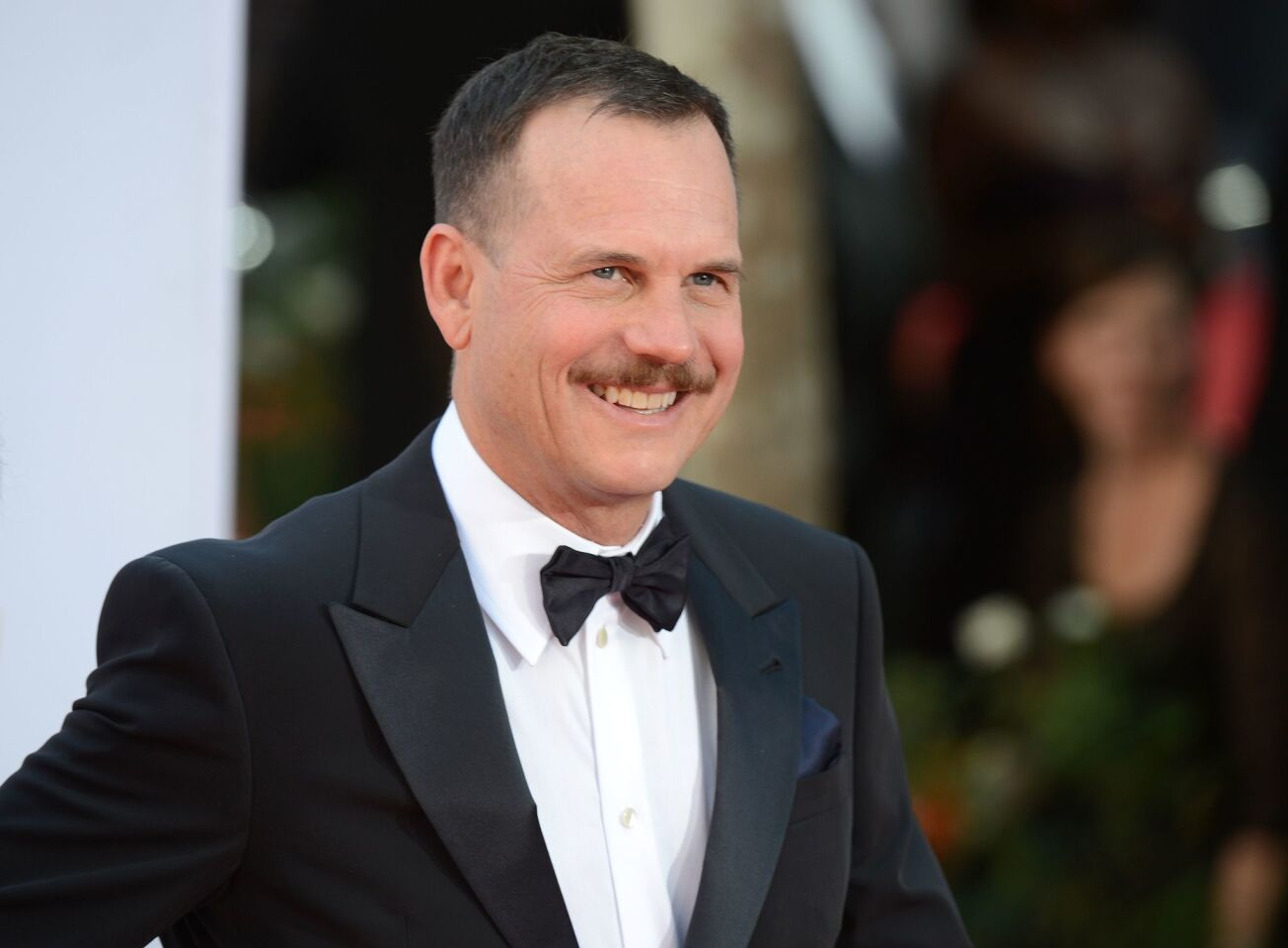 Actor Bill Paxton arrives for the Emmy Awards in 2012 in Los Angeles. Paxton has died at age 61.