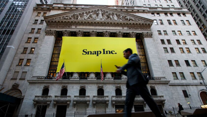 FILE: Snap Inc. reported 166 million active users for a growth rate of 5 percent in 2017 Q1. NEW YOR