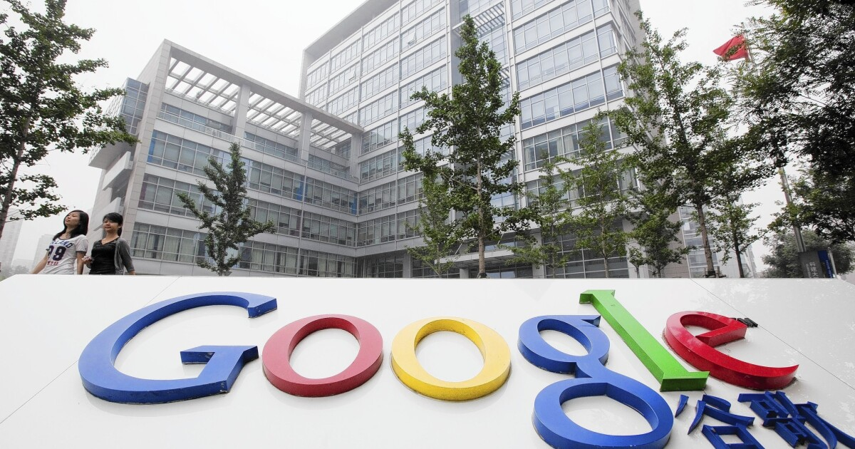 China broadens crackdown on Google services