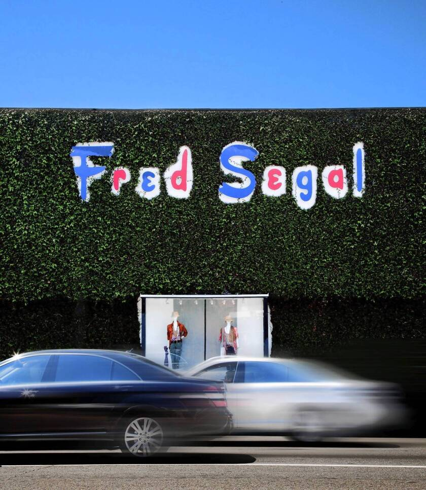 The Fred Segal name changes hands.