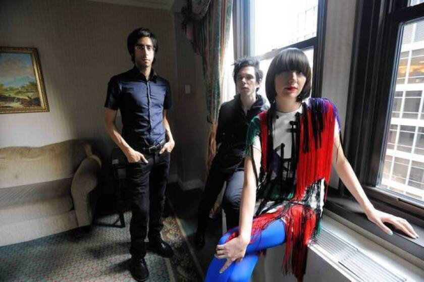 Live review: Yeah Yeah Yeahs are positively explosive