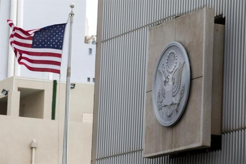 """La portavoz del Pentágono, Dana White, señaló hoy que el Departamento de Defensa de EEUU está """"listo"""" para afrontar cualquier amenaza contra las embajadas y consulados estadounidenses que surjan a raíz del reconocimiento del presidente Donald Trump de Jerusalén como capital de Israel. EFE/ARCHIVO"""