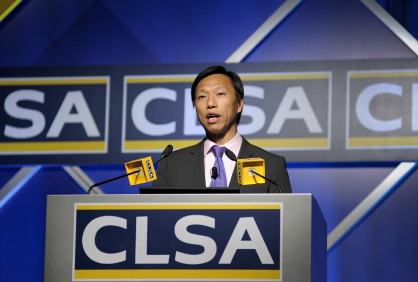 Francis Cheung, head of China/Hong Kong strategy at CLSA.