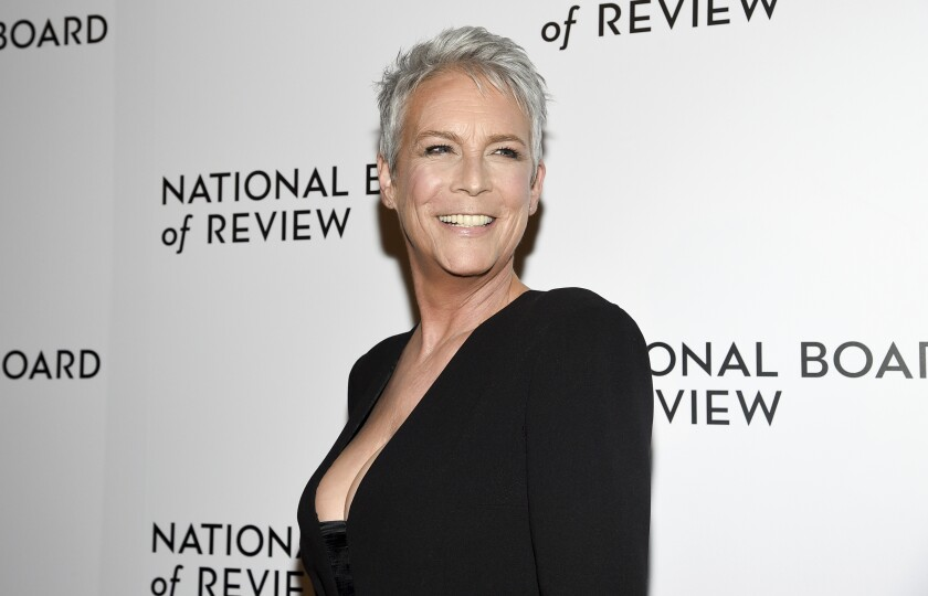 Jamie Lee Curtis attends the National Board of Review Awards on Jan. 8, 2020, in New York.