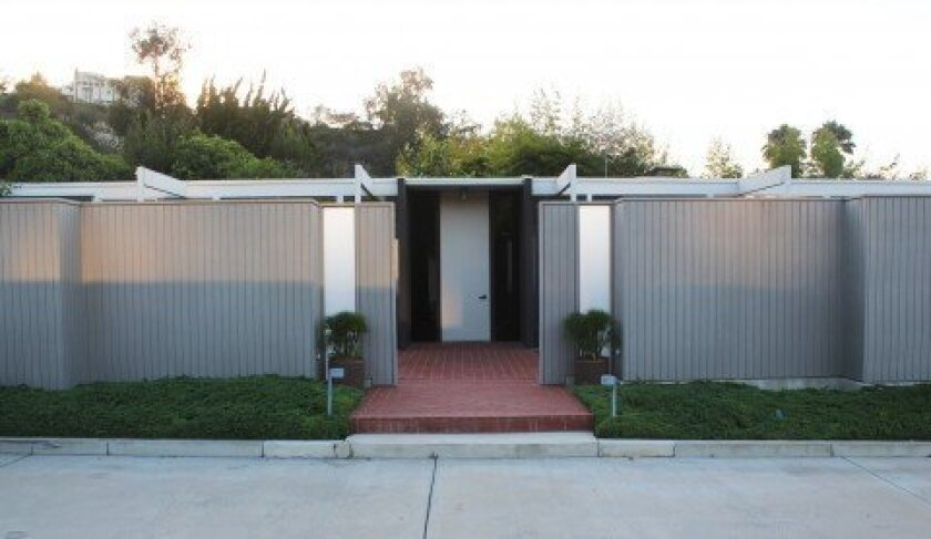 This home on Mt. Soledad was part of a case study of Mid-Century Modern homes commissioned by Art & Architecture magazine between 1945-1966. The home received a historic designation on July 24.